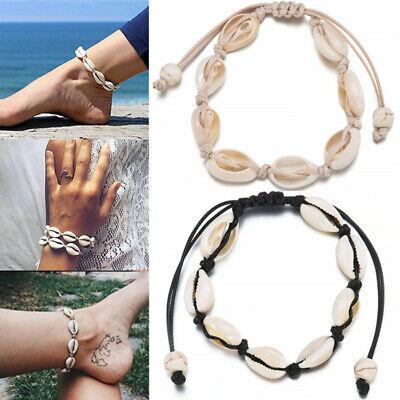 Summer Beach Sea Shell Bracelet Women Jewelry Ankle Bracelets Foot Fashion - Bracelets Beach Shell Bracelets