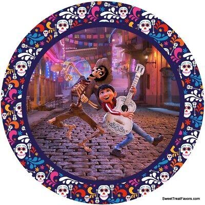 COCO Movie Party PLATES CAKE Treats Supplies Decoration Dia de Muertos 10PCS Boy