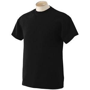 100 new plain blank black gildan t shirts cotton