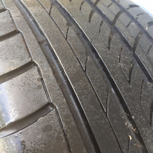 """DUB 18"""" rims chev 5 bolt and Good tires 225 40 r18 Sell or Trade Kingston Kingston Area image 2"""