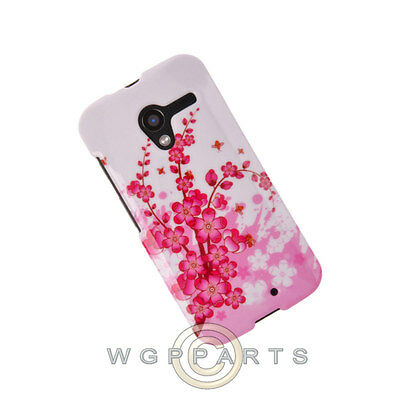 Motorola Moto X XT1055/XT1060 Shield Spring Flowers Case Cover Shell Protector