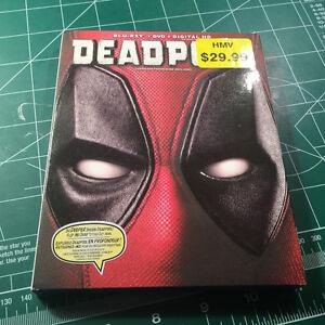 Deadpool blu-ray/DVD set