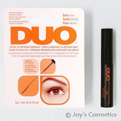1 DUO Brush On Striplash Adhesive (Eyelash glue) - Dark Tone *Joy's cosmetics* (Adhesive Makeup)