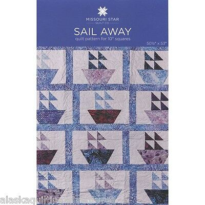 Quilt Pattern   Sail Away   By Missouri Star Quilt Co