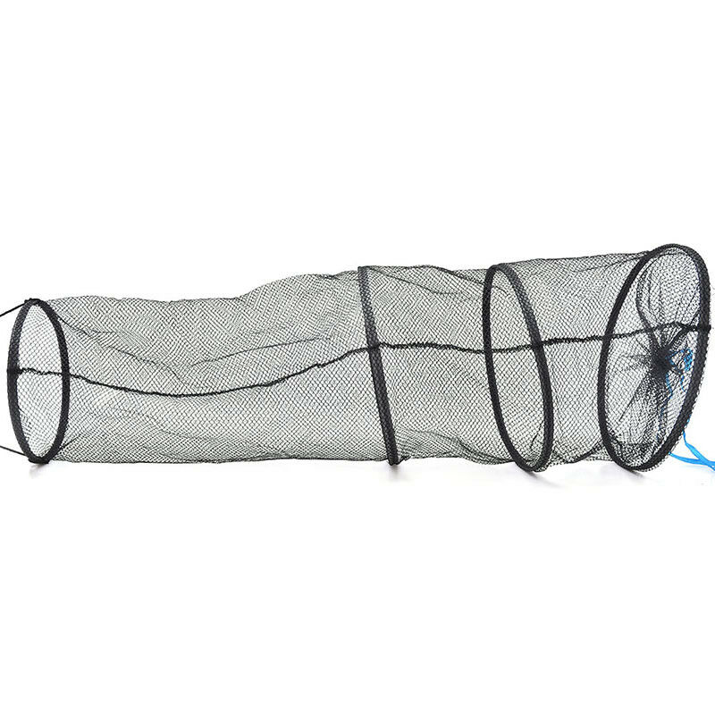 4Layers Collapsible Fishing Basket Dip Net Fishing Cage Fishing Accessor Tool FB - 4