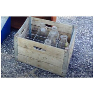 WANTED: Antique wooden milk crate(s)