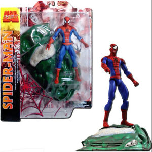 Marvel Select Spider-Man Action Figure available in store!