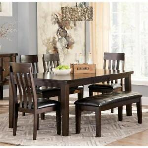 DINING SET WITH BENCH | DINING SET CANADA (ASH2231)