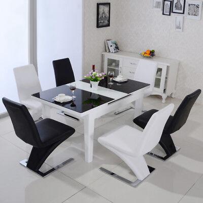 2 4 6 Stück Esszimmerstühle Esszimmer Wohnzimmerstuhl Küchenstuhl Stuhl Möbel DE - 4 Stück Wohnzimmer