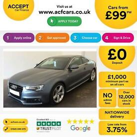 Audi A5 FROM £99 PER WEEK!