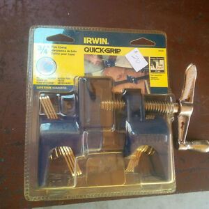 "NEW IRWIN QUICK GRIP 3/4"" PIPE CLAMP #224134"