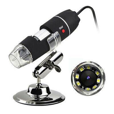 Usb Electron Microscope Magnifier 1000x Zoom 1080p Endoscope Video Camera