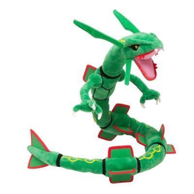 Plush Snake (Rayquaza Pokemon Go Plush Toy Dragon Snake Ferocious Stuffed Animal Doll)