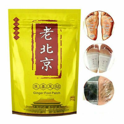 Ginger Detox Foot Pad Weight Loss Patch Feet Care Relieve Fatigue Remove Toxin