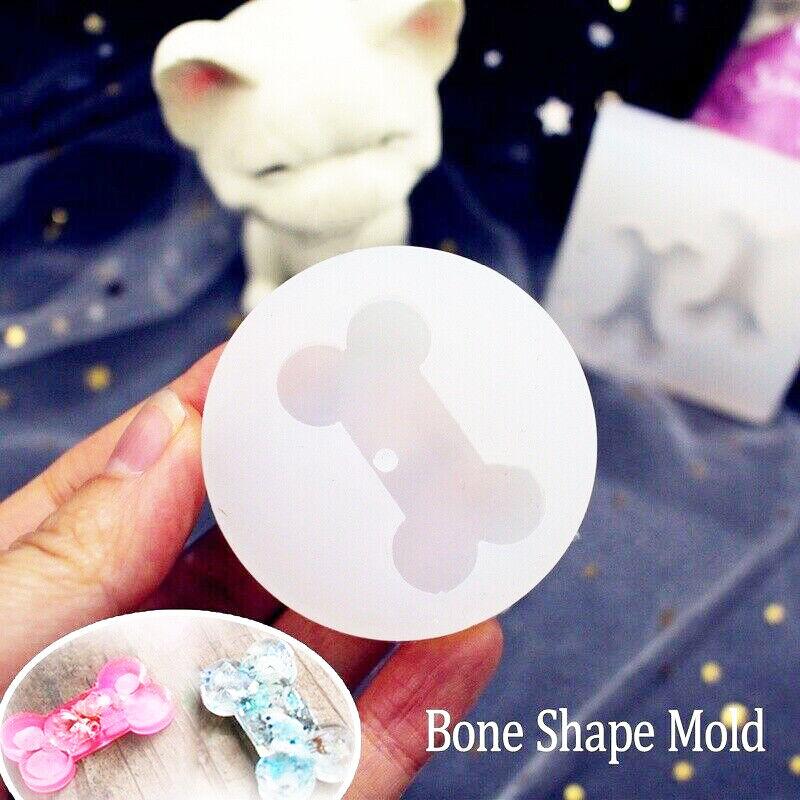 cute dog bone resin mold epoxy jewelry