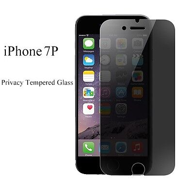 Privacy Anti-Spy Real Tempered Glass Screen Protector Film For iPhone 7
