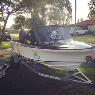 Haines hunter v16r fully rebuilt with 100hp 4 stroke Yamaha low hours Pacific Paradise Maroochydore Area Preview