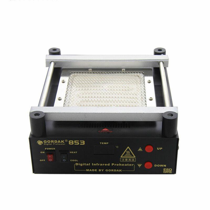 220V 853 ESD BGA Rework Station PCB Preheat Desoldering IR Preheating Station