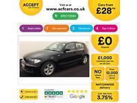 BMW 116 1.6 2008MY i SE FROM £28 PER WEEK !