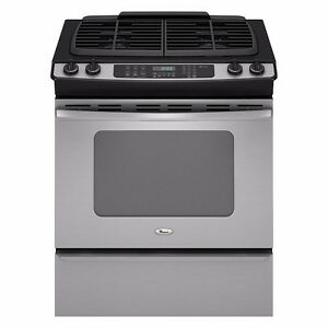 """GE 30"""" Self-Cleaning Slide-In Gas Range - Excellent Condition"""