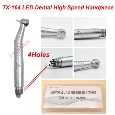 Tosi Tx-164 4 Holes E-generator Led Dental High Speed Handpiece Air Turbine New