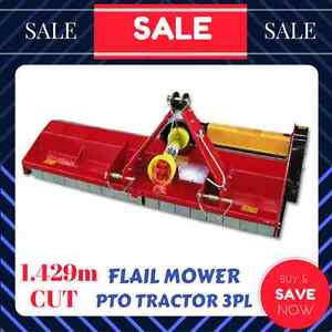 FLAIL MOWER TRACTOR PTO 3 PL 1.4m - 1.5m CUT Mulching SLASHER Ringwood Maroondah Area Preview