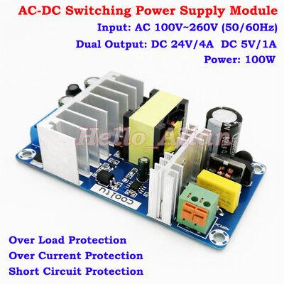 Ac-dc Converter 110v 120v 220v 230v To 5v 24v Dual Output Power Supply Switching