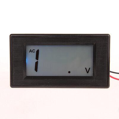 3 12 Blue Lcd Digital Volt Panel Meter Ac 0-200v Voltmeter 200v