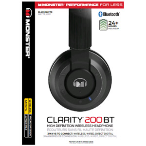 MONSTER CLARITY 200BT HEADPHONES
