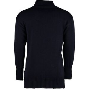 New-100-British-Wool-Submariners-Fishermans-Roll-Neck-Sweater-Jumper-12632