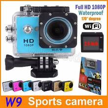 W9 HD Acton Camera Diving Wifi 1080P Waterproof Sports Cam Cooloongup Rockingham Area Preview