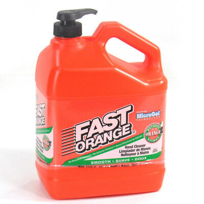 Permatex Hand Cleaner 23218; Fast Orange Smooth Lotion 1 Gallon