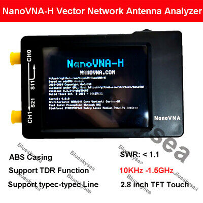 Nanovna-h 10khz-1.5ghz Vector Antenna Network Analyzer Vhf Uhf Uv Hf Vna Shell