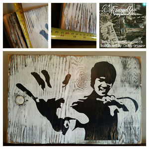 Bruce Lee art by Forgotten Simplicities 70%off Peterborough Peterborough Area image 1