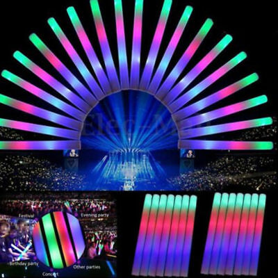 30-150Foam Sticks Flashing LED Glow Light Up Wand Wholesale Wedding Party Lot - Led Glowstick