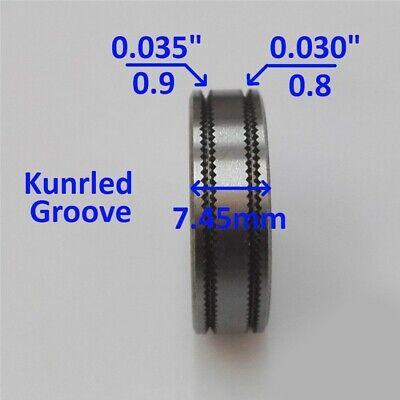 Mig-welder Wire Feed Drive Roller Weld 0.9mm .035 Kunrled-groove .030 Tool