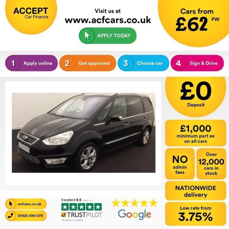 Ford Galaxy FROM £62 PER WEEK!