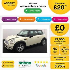 Mini Mini 1.6TD Cooper D FROM £20 PER WEEK!