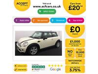 MINI COOPER 1.2 1.6 2.0 S D SEVEN ONE COUPE CHILLI PACK FROM £20 PER WEEK!