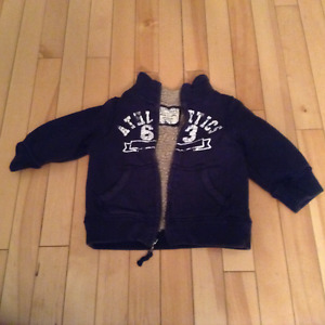 Boys 18 month zip up sweater