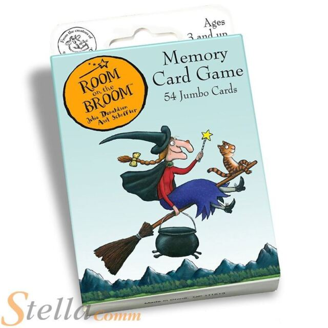 Paul Lamond Room On The Broom Childrens Memory Snap Card Game