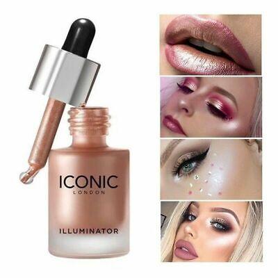 Iconic London Liquid Face Highlighter Illuminator Drops 13.5ml   UK STOCK~