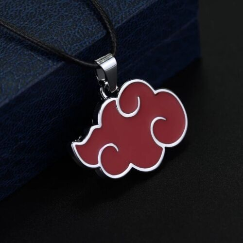 Anime Naruto Necklaces : Akatsuki Red Cloud Necklace - (BUY 2 GET ONE FOR FREE)