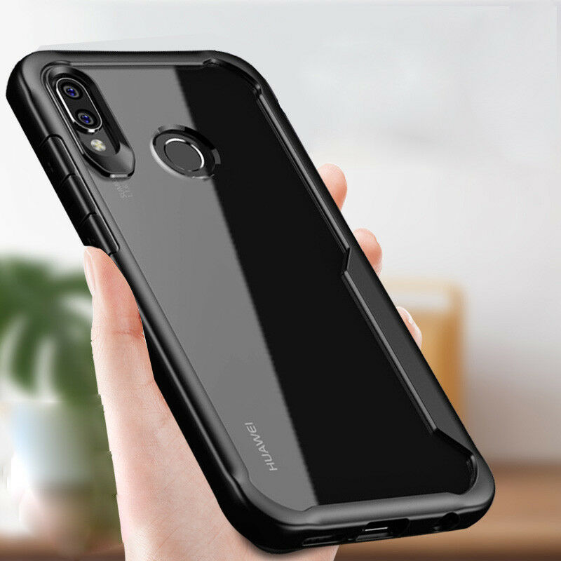 hot sale online 69eaa eaffd Details about For Huawei Honor Play Case ,Hybrid Shockproof Soft Bumper  Slim Clear Back Cover