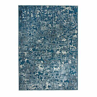 Abacasa Napa Axel Blue and Ivory 5x8 Area Rug