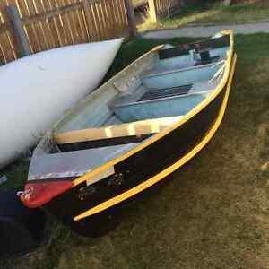 12' aluminum boat with motor