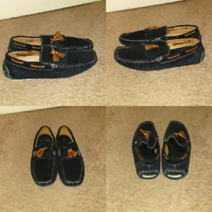 Aldo suede slip on shoes. Size 43 (9.5 mens)