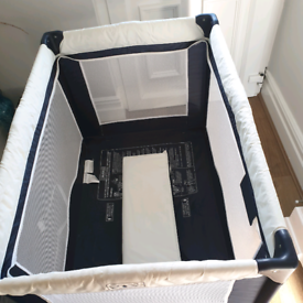 Cuggl Deluxe Travel Cot with mattress