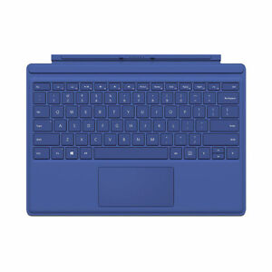 Microsoft Surface Pro 4 Type Cover with Keyboard - Blue QC700003