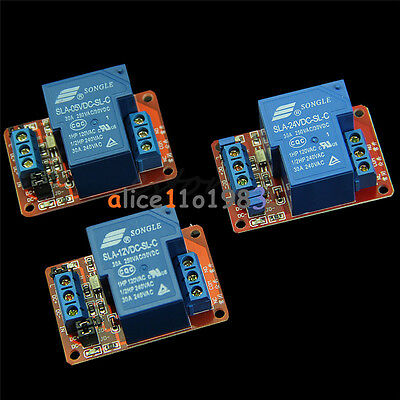 30a 5v 12v 24v 1-channel Relay Module Board With Optocoupler Hl Level Triger